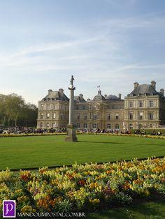Jardim de Luxemburgo, um dos jardins mais fotogênicos que já vi na vida!