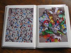 A DIY I Spy Book and Bag! Awesome