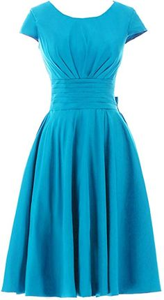Sunvary Concise Jewel Sleeves Chiffon Bow Short Prom Homecoming Dresses Size 10- Regency at Amazon Women's Clothing store: