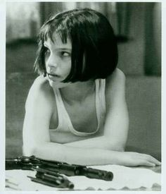 Mathilda- the professional. awesome movie!