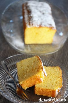 Norwegian Food, Norwegian Recipes, No Bake Cake, Cornbread, Cake Recipes, Food And Drink, Yummy Food, Treats, Sweet