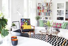 Colorful livingroom