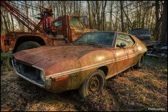 US Car Graveyard