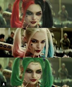 Harley Quinn. That top one is how it shudve been. They cudve done so much better.