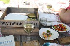 Warwick Wine Estate Gourmet Picnic in Stellenbosch.. phenominal