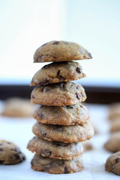 The Best Vegan Chocolate Chip Cookies! These cookies are made with coconut oil. The coconut oil gives them a slight coconut flavor and that makes...