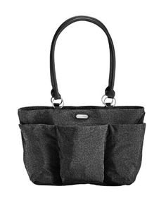 Women's Shoulder Bags - Baggallini A La Carte Travel Tote Black Cheetah One Size ** Read more at the image link.