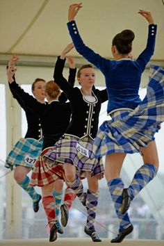 Cowal Highland Games 2013 Second from the right - kilt with black jacket #lochnagar #blue #tartan