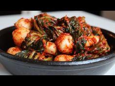 Ponytail kimchi (Chonggak-kimchi) recipe - Maangchi.com