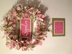 Hospital door baby wreath!