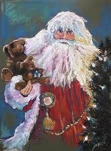 Santa Claus Santa Of The Tree Painting