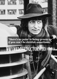 Four. ,y first Doctor. Thanks mom and dad for introducing me at birth to the show from one to eleven. But this is the first one I actually remember even if he was before my time.