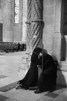 Henri Cartier-Bresson PORTUGAL. Lisbon. 1955. Belem. Jeronimos Monastery.