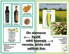 #Hamppu #oliiviöljy #kookosöljy #saksanpähkinä #pellavansiemenet ovat rasvoja, joita ei saa karsia ruokavaliosta. Virginia