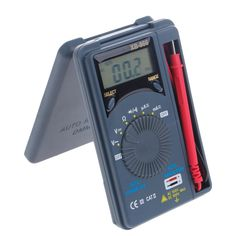 XB866 Mini Auto Range LCD Voltmeter Tester Tool AC/DC Pocket Digital Multimeter W312 #Affiliate