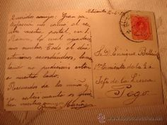 TARJETA POSTAL DIRIGIDA AL JEFE LA GUARDIA CIVIL DE PEGO, ALICANTE, SELLO MATASELLO FECHADA 1915