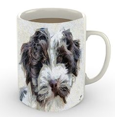 Havanese - 'Fideo' -  Ceramic Coffee/Latte Mug by DoggyLips - 11 or 15 Ounces by DoggyLips on Etsy