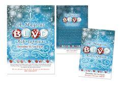 Some of our design work at McGregor Shott, Inc. City of Lancaster Holiday Event.