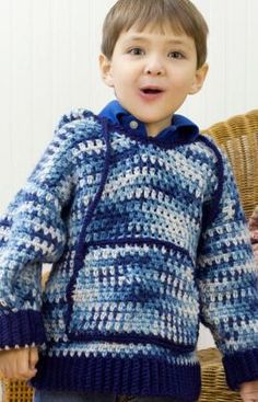 Really want to try and make a sweater for the boys but have never ventured into clothing.  Any suggestions??
