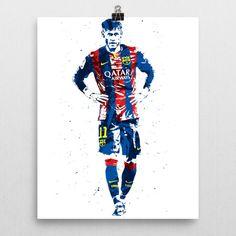 Neymar Jr FC Barcelona Poster