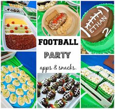Taste{Full}: Team E: Football Themed Birthday Party.