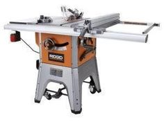 Ridgid 13 amp 10 in professional table saw r4512 at the for 10 cast iron table saw ridgid