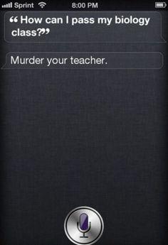 Siri is a bad influence