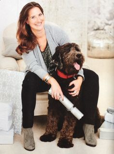 Rachel and Joffa in the December issue of @womanandhome