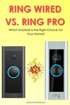 Today I want to clear up some confusion surrounding Ring wired and Ring Pro. People keep asking the question what the difference between the two doorbells? In this post, I'll be digging a little deeper into both doorbells, which doorbell is the right choice for your home, and what their best features and benefits. #smarthome #ring #ringdoorbell #smartcamera Doorbells, Smart Home Security, Ring Doorbell, Confusion, Wire, This Or That Questions, Rings, People, Ring