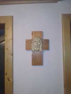 wood carving project Jesus