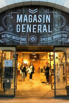 Things to do in Bordeaux France - visit Magasin General for beers at darwin
