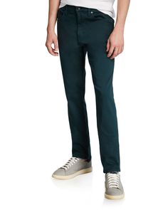 Joe's Jeans Men's French Terry Slim-straight Pants In Green Joes Jeans, French Terry, Cotton Spandex, Slim, Green, Clothes, Shopping, Style, Fashion