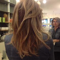 Hair blond