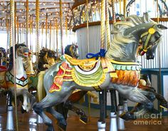 Carousel - Lighthouse Park in New Haven, CT