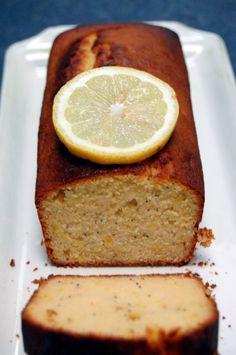 Cake citron miel & graines de pavot – Torchons & Serviettes