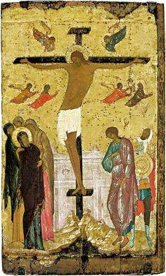 Дионисий. Распятие. 1500 г. Dionysius. Crucifixion. 1500