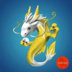 My first beautiful Kasai became a dragon today.