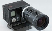 Give Your GoPro HERO3 Interchangeable Lenses with the Back-Bone Ribcage