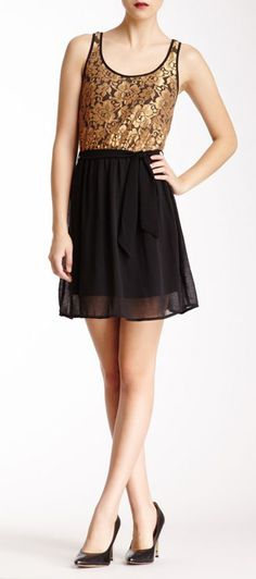 Lace Trim Dress..... Homecoming next year?!