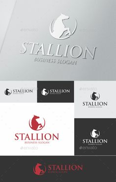 Buy Stallion by djjeep on GraphicRiver. Stallion Horse Logo – An excellent logo template highly suitable for finance, insurance, management and consulting bu. Logo Design Template, Logo Templates, Pegasus Logo, Letterhead Logo, Business Slogans, Horse Logo, Vintage Logo Design, Graphic Design, Initials Logo