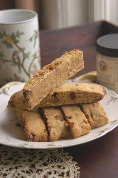 Caramel Macchiato Biscotti