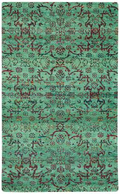 Round About High Wire Hand Knotted Area Rug