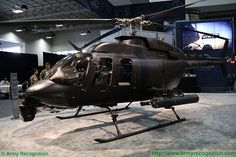 NorthStar Aviation presents low cost solution of multirole light attack helicopter 407MRH at AUSA