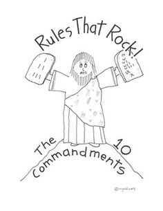 a religious ranting on ten commandments The ten commandments also known as the decalogue, are a set of biblical  principles relating to ethics and worship,.