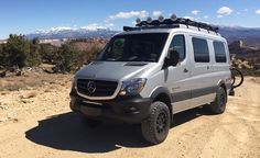 16 of the World's Most Capable Adventure Vehicles – Feature – Car and Driver Mercedes Sprinter Camper, Mercedes 4x4, Benz Sprinter, 4x4 Van, 4x4 Camper Van, Truck Camper, Ambulance, Defender Camper, Hymer