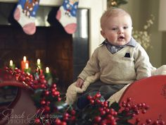 A holiday family photo session in Needham, Massachusetts - Sarah Murray Photography