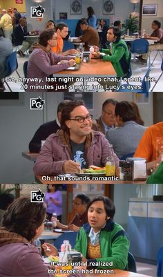funny scene from the the big bang theory