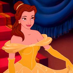 Day 6 Prettiest Princess: Belle of course she is my favorite princess if all time!