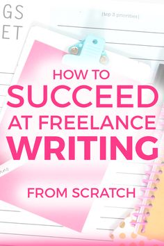 Be a Freelance Writer  Your Writer Platform   Elna Cain