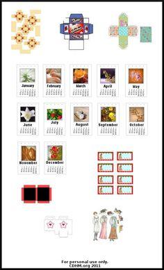 Free box printies for dollhouse miniatures